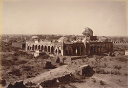 Great Mosque in Gulbarga Fort.
